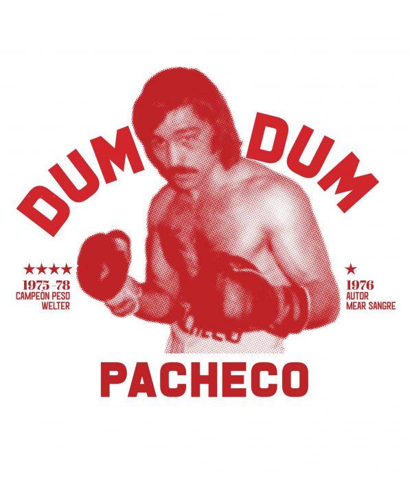 Camiseta Mear Sangre Libro Dum Dum Pacheco