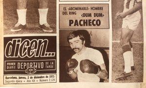 Libro, Ring, Pacheco, Mear Sangre, pelea, dun dun, dum dum